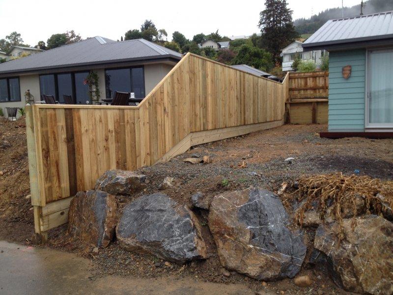 Higgins residential fencing in Nelson Tasman